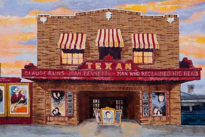 Mural Texan Theatre Lufkin TX_1109