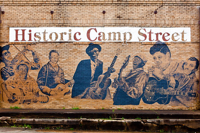 Historic Camp Street Mural Crockett TX_1122