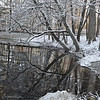 SNOWY REFLECTIONS -Hawthorn Park, Vigo County, Indiana<br /> <br /> Nestled just northeast of the city of Terre Haute, Hawthorn Park and the adjacent JI Case Wetland Wildlife Refuge provide a tranquil setting for hiking, camping, picnicking, fishing, and swimming on over 250 acres of woodlands, wetlands, and water.<br /> <br /> Maintained by the Vigo County Parks Department, the park's amenities include a campground, picnic shelters, playgrounds, archery range, beach and trails. A fully accessible trail with a wildlife observation shelter overlooks the JI Case Wetland and Wildlife Refuge. The 50 acre lake attracts many species of migratory birds, making the park a favorite destination for local bird watchers. Fishermen also take advantage of the lake's abundant bluegill and bass.<br /> <br /> One unique feature of the park is a labyrinth. Completed in 2003, the Kenneth E. Smith Memorial Labyrinth is an 80-foot diameter circle modeled after the labyrinth in the floor of the Chartres Cathedral in France. <br /> <br /> Surrounded by a meditation garden, the labyrinth's singular path contains 34 switchback turns, requiring walkers to concentrate as they follow the path to its center and back again.  At 30 inches wide with 6 inches between paths, the labyrinth can accommodate wheelchairs and walkers.