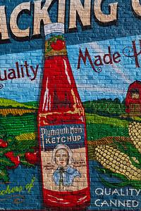 Plymouth Maid Ketchup Mural Plymouth WI_9257