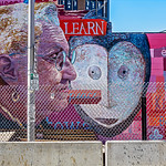 Gentrification, A Mural Waiting Demolition