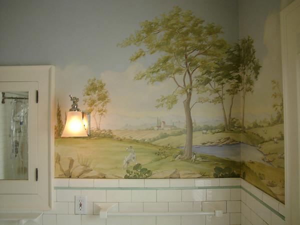 Mural 10 BoppArt Decorative Painting