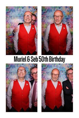 Muriel & Seb 50h Birthday, 06th Oct 2018