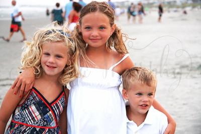 Exum Family on BEACH