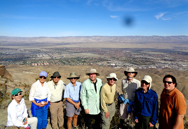 Murray Hill Hike with Sierra Club, Palm Springs CA December 22, 2018