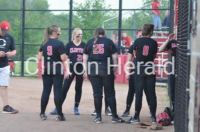Muscatine at Clinton softball (6-4-15)