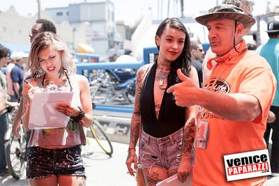 Thermolife's Venice Bikini Show.  www.MuscleBeach.com.  Photos by VenicePaparazzi.com - www.HireVP.com