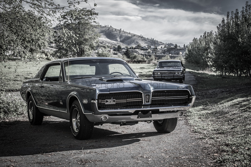 1968 Cougar GTE XR7 427 Side Oiler and 1967 Chevelle SS L78 375 HP