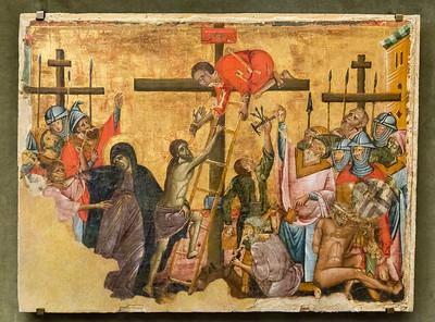 Guido da Siena: Kreuzbesteigung Christi [Um 1270-1280, Museum Catharijneconvent Utrecht]