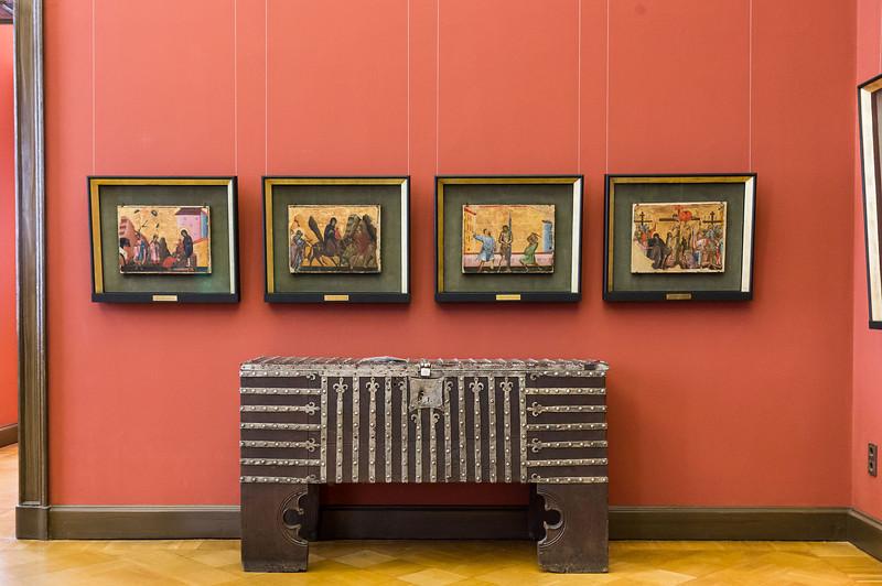 Guido da Siena: 4 Tafeln vom Hochaltar des Doms [Um 1270-1280, Lindenau-Museum Altenburg]