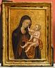 Giovanni di Paolo: Madonna mit Kind [Um 1440-1445, Lindenau-Museum Altenburg]