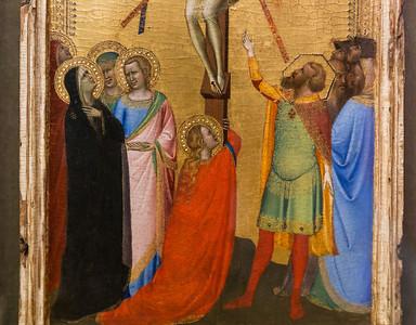 Bernardo Daddi: Kreuzigung Christi, Detail [Um 1345-1348, Lindenau-Museum Altenburg]