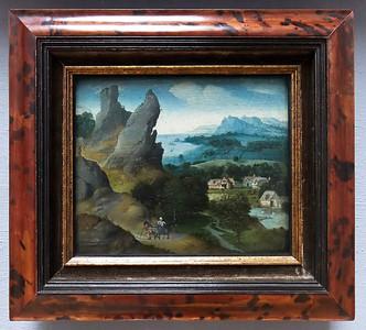 Joachim Patinir: Landschaft mit der Flucht nach Ägypten (Antwerpen, Museum der Schönen Künste)