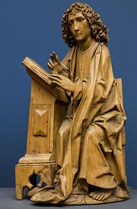 """..., und Blogeinträge formulieren (""""Evangelist Johannes"""" vom Münnerstädter Altar, Tilmann Riemanschneider, 1462, noch im Bode-Museum)"""
