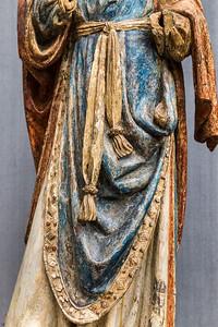 Brabant: Frau aus einer Grablegung, Detail (um 1510/20) [aus Bode-Museum Berlin]
