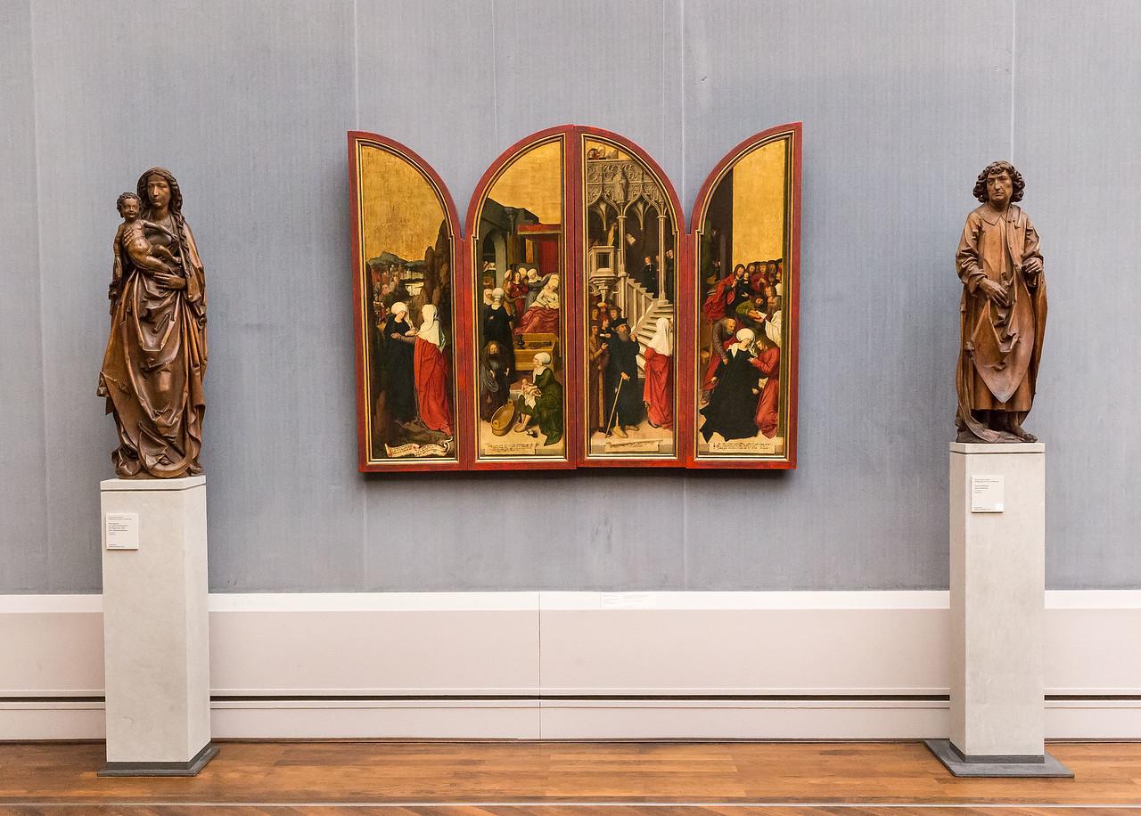 Riemenschneider in Raum II (B. Strigel) [Gemäldegalerie Berlin]