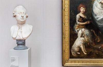 Jean-Antoine Houdon: Baron Otto Hermann von Vietinghoff (1791, Gainsborough) [Gemäldegalerie Berlin]