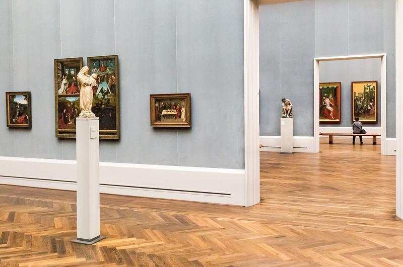 Burgund: Muttergottes in Raum IV mit Blick in III + II) [Gemäldegalerie Berlin]