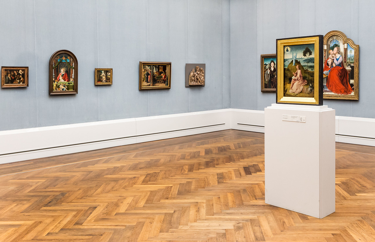 Adrian von Wesel in Raum 6 (u.a. v.Leyden, H. Bosch, Massys) [Gemäldegalerie Berlin]