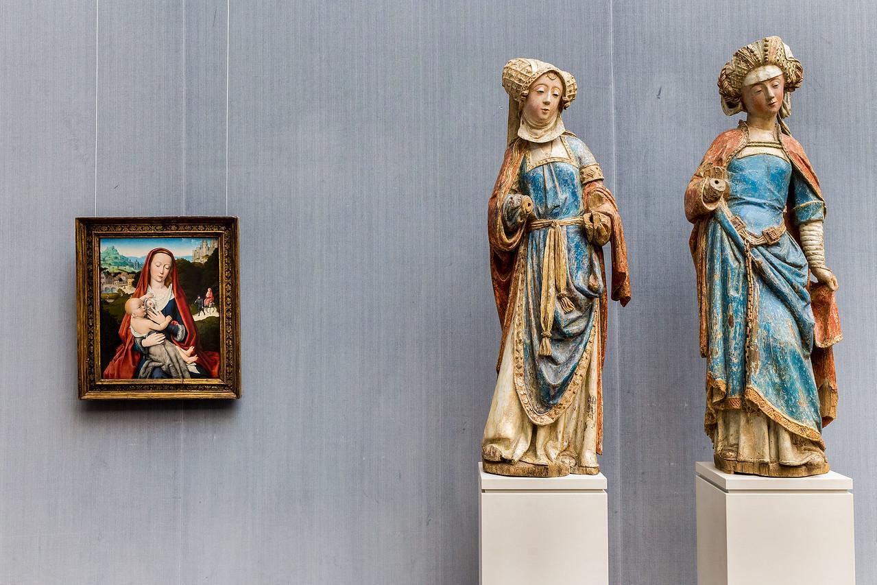 Brabanter Frauen (um 1510/15) in Raum V (Gerard David) [Gemäldegalerie Berlin]
