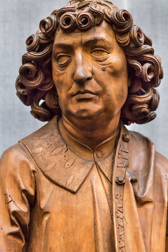 Riemenschneider: Apostel Matthias, Detail (1500/05) [aus Bode-Museum Berlin]