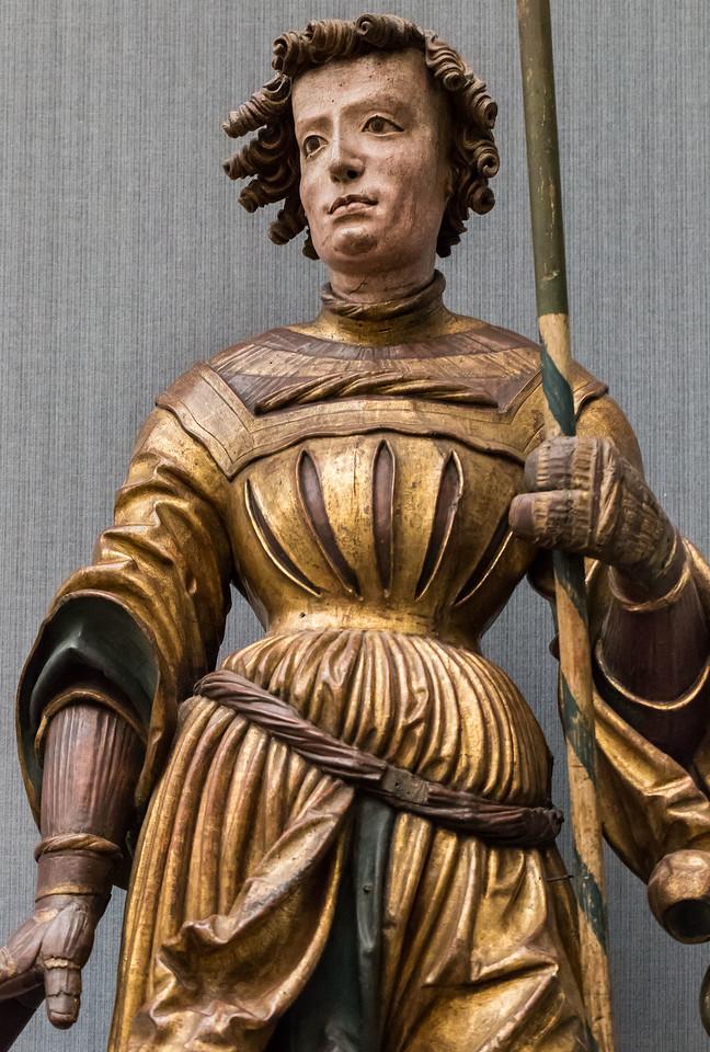 Bayern (München): Hl. Georg (um 1520) [aus Bode-Museum Berlin]