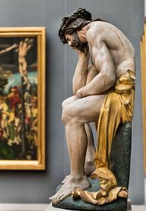 Hans Leinberger: Christus im Elend (um 1525) [aus Bode-Museum Berlin]