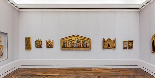 Der Giotto-Raum in der Gemäldegalerie Berlin 2013 (Raum 41)