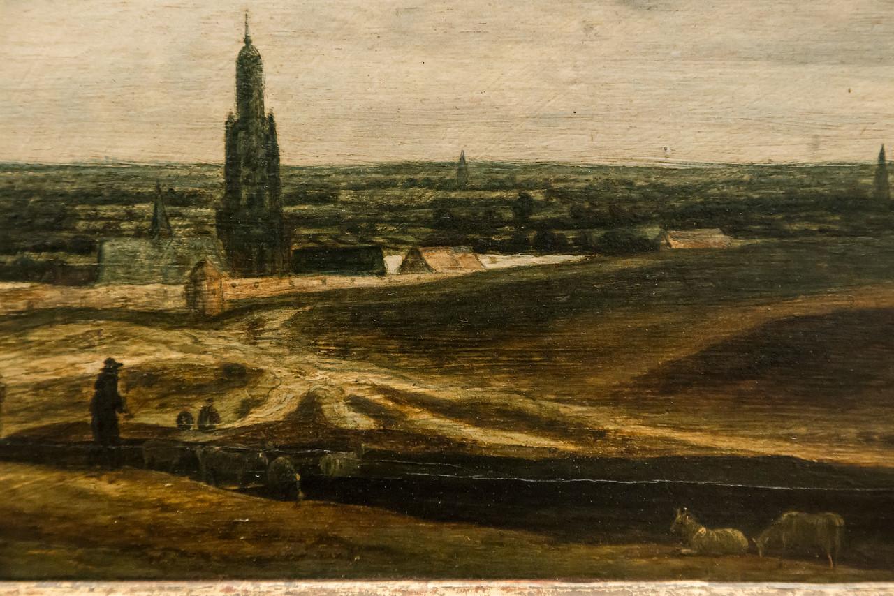 Hercules Seghers: Ansicht von Rhenen [Um 1625/30, Gemäldegalerie Berlin]