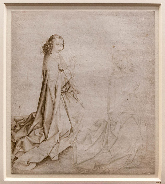 Dirk Bouts (Werkstatt): Verkündigung [Um 1470-90, Kupferstichkabinett Berlin]