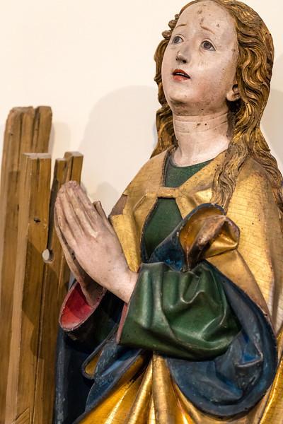 Michel Erhart: Enthauptung der hl. Katharina