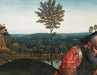 Petrus Christus: Beweinung (Brüssel, Museum der Schönen Künste)