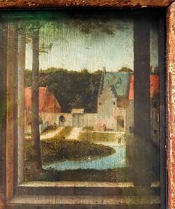 Gerard David: Maria met de Paplepel (Brüssel, Museum der Schönen Künste)