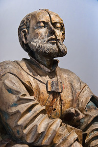 Jakobus der Ältere aus Ölberggruppe; um 1515; aus Thurm bei Glauchau; Schlossbergmuseum Chemnitz