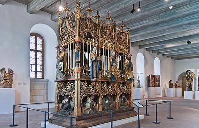 Heiliges Grab; 1480-1525;  Laubholz; aus St. Jacobi in Chemnitz; Schlossbergmuseum Chemnitz