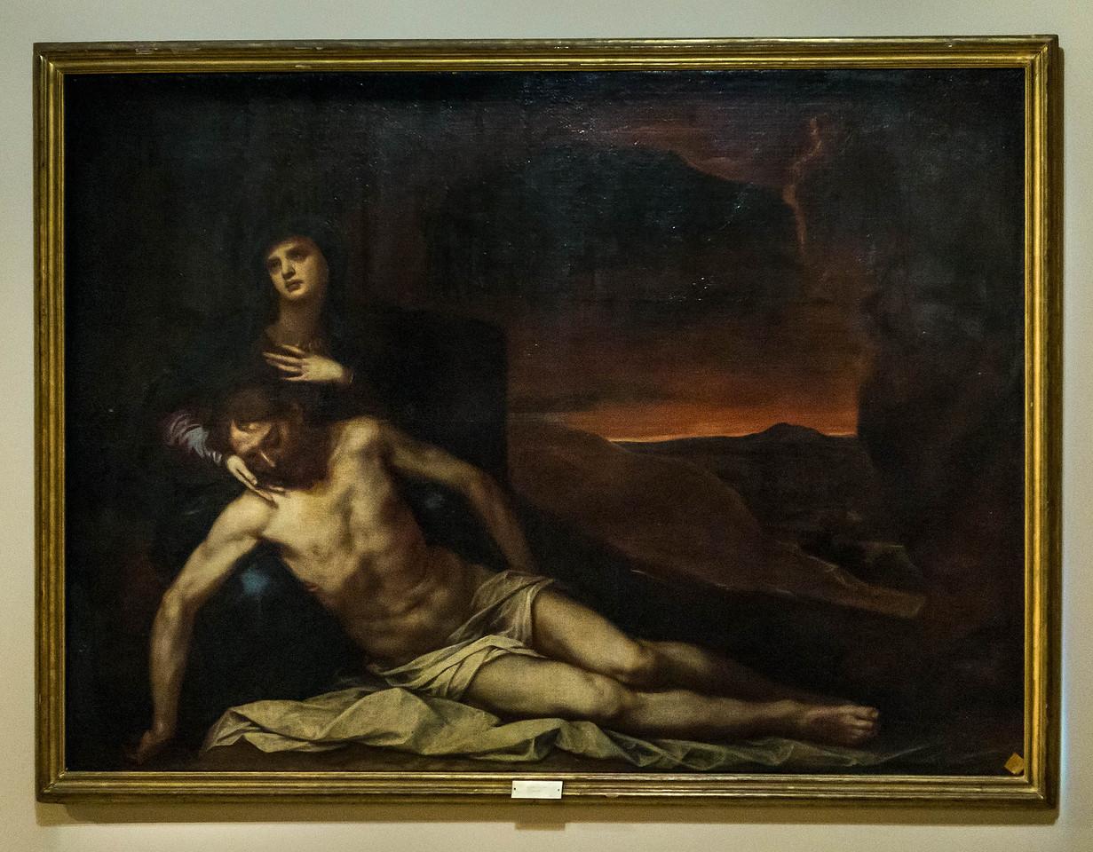 Alonso Cano: Pieta [1601-1667, Academia de Bellas Artes, Madrid]