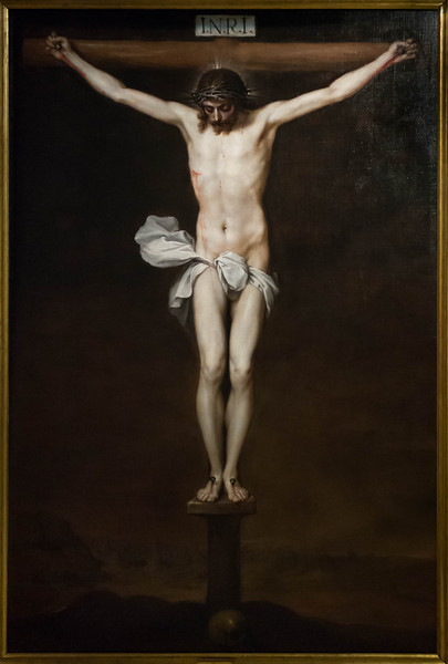 Alonso Cano: Christus am Kreuz [um 1640,  Academia de Bellas Artes, Madrid]
