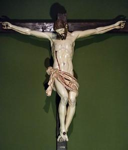 Anton Morales: Kruzifix [aktiv 1589-1623, Academia de Bellas Artes, Madrid]