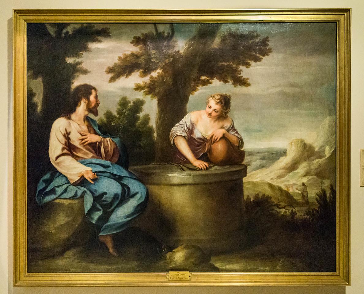 Alonso Cano: Christus und die Samariterin [um 1650, Academia de Bellas Artes, Madrid]