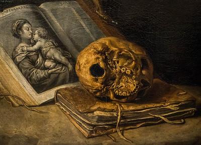 Antonio de Pereda: Wilhelm von Aquitanien, Detail [1671, Academia de Bellas Artes, Madrid]