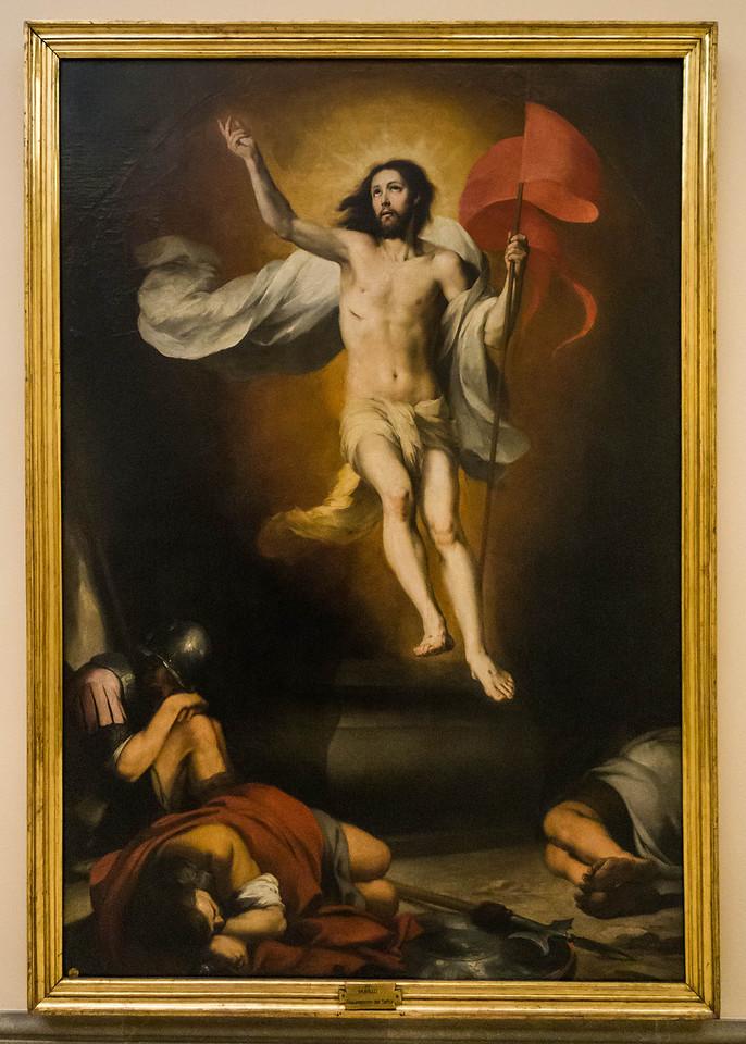 Murillo: Auferstehung [um 1655, Academia de Bellas Artes, Madrid]