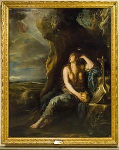 Juan Carreno de Miranda: Büßende Magdalena [1654, Academia de Bellas Artes, Madrid]