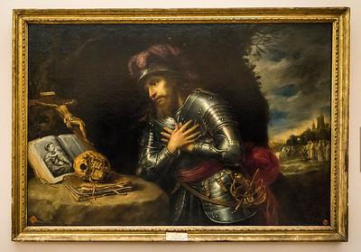 Antonio de Pereda: Wilhelm von Aquitanien [1671, Academia de Bellas Artes, Madrid]