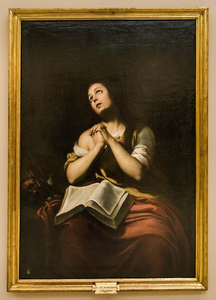 Murillo: Maria Magdalena [1618-1682, Academia de Bellas Artes, Madrid]