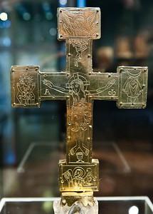 Reliquienkreuz, Rückseite (nordwestdeutsch, um 1090)