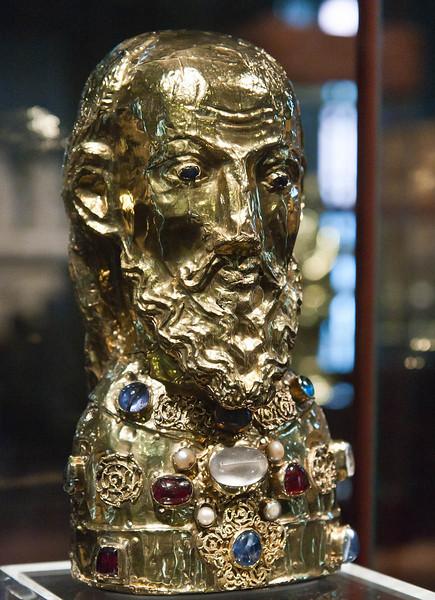 Münster, Domkammer, Kopfreliquiar des hl. Paulus (1070)