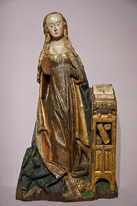 Münster, WLM, Maria aus Verkündigung (Flandern, um 1480)