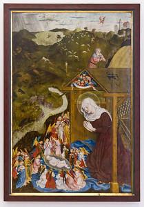 Geburt Christi (Meister der Pollinger Tafeln, 1444, GNM)