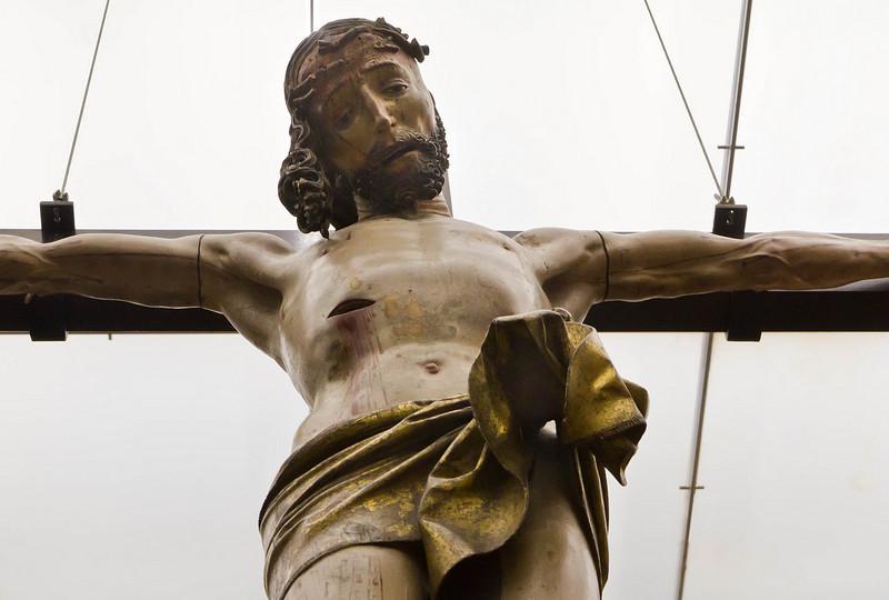 Christus am Kreuz (Veit Stoß, um 1505?, GNM)