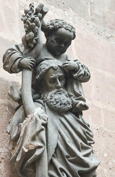 Schlüsselfelder Christophorus (Nürnberg, 1442, von St. Sebald, GNM)